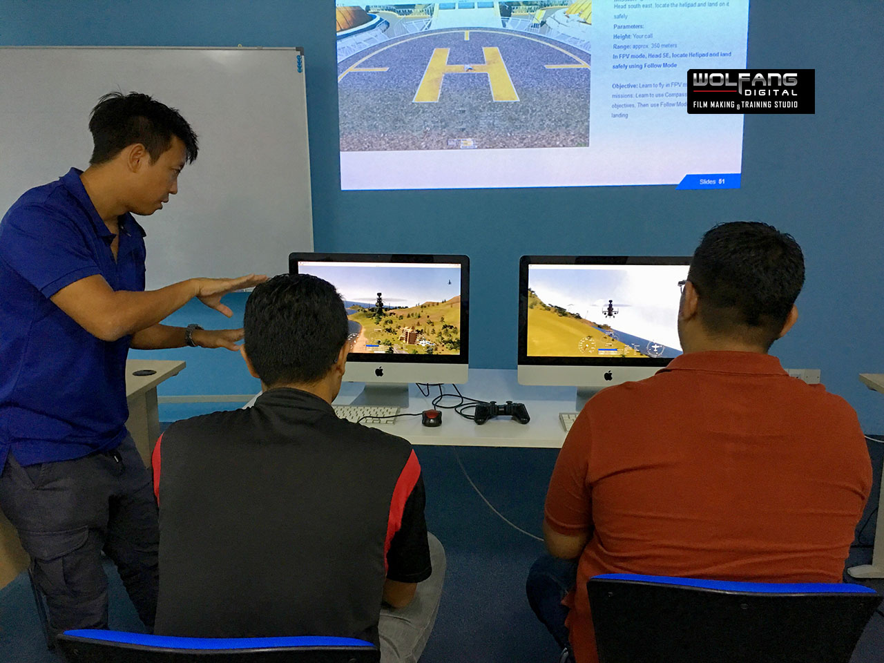 Our students become better pilots after learning to fly drones in flight simulators