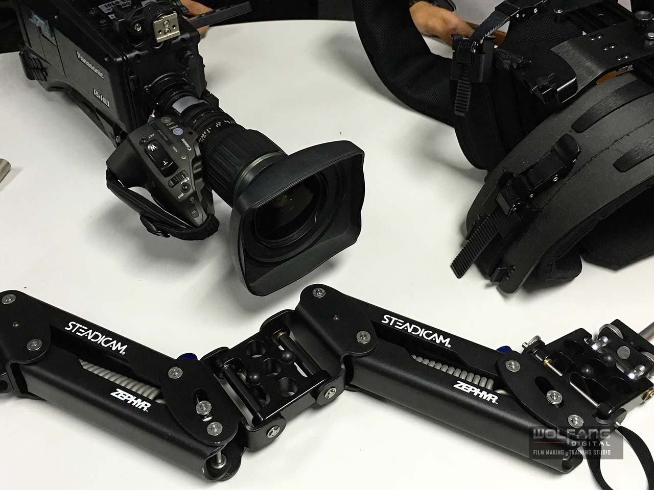 Get close and personal with every Steadicam gear and get good with it