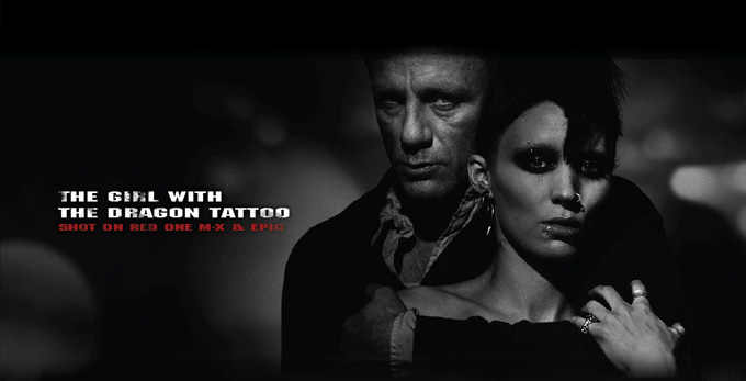 The Girl With The Dragon Tattoo- Directed by David Fincher. Shot on Red One MX & Epic. Coming 21-12-2011