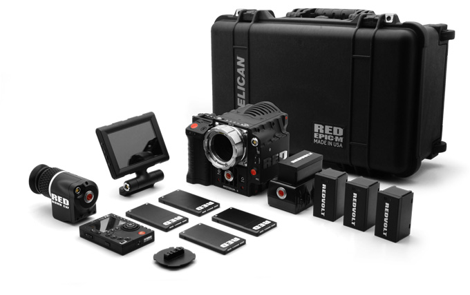 Going 4K? The Red Epic from Red Digital Cinema. This package alone costs USD 58,000