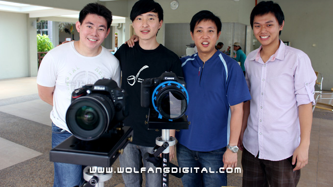 Baba Sandiko (Indonesia), Mike Ong (Perak, Malaysia), Baron and Adrian Yap (Saito College).
