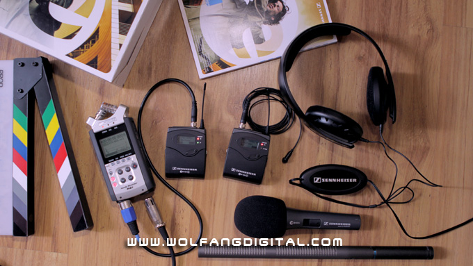 Some of our upgraded audio recording gear from Sennheiser (Germany), Audio Technica (USA) and Zoom (Japan)