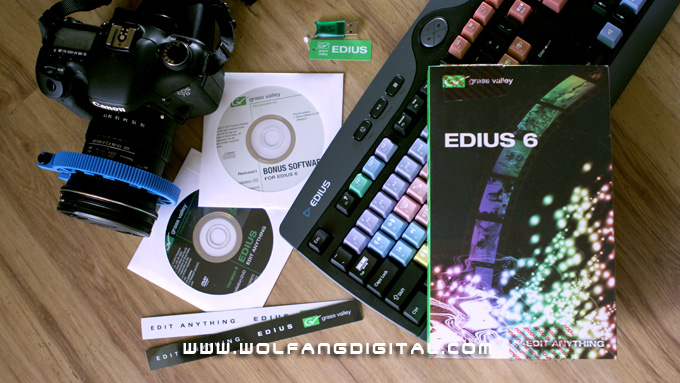 Edius 6 Crossgrade Promo: The perfect time to switch your editing software to Edius 6