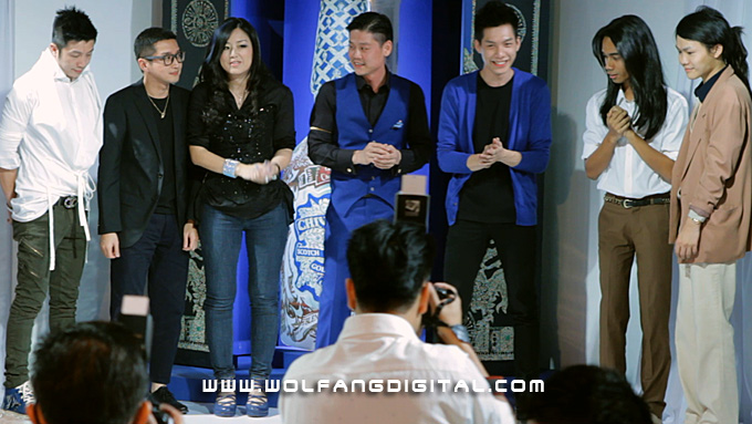 Award-winning fashion designers: Michael Ong, Khoon Hooi, Beatrice Looi, Ian Chang, Joe Chia and rep for Jovian Mendagie and stylist Chris Yong