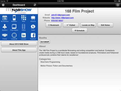 NAB 2012 is a big place. You'll need help and this app can assist. You've been advised!