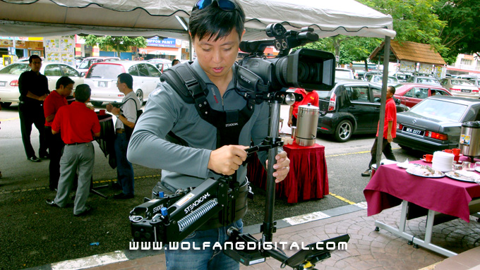 Steadicam Pilot is a solid, well designed stabilization system. Everything about Steadicam screams quality and precision.