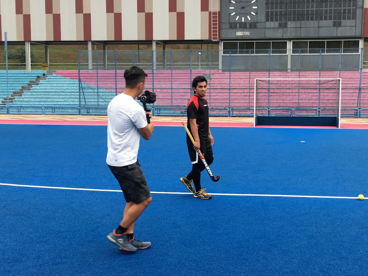 Our national hockey player, Fitri Saari tells us how he prepares for the SEA Games