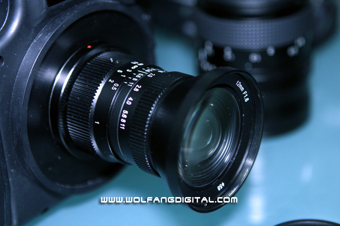 Noktor Hyperprime F1.6 12mm lens is an ultra fast lens designed to the micro Four-Thirds camera system. Excellent in low-light conditions with macro capabilities.