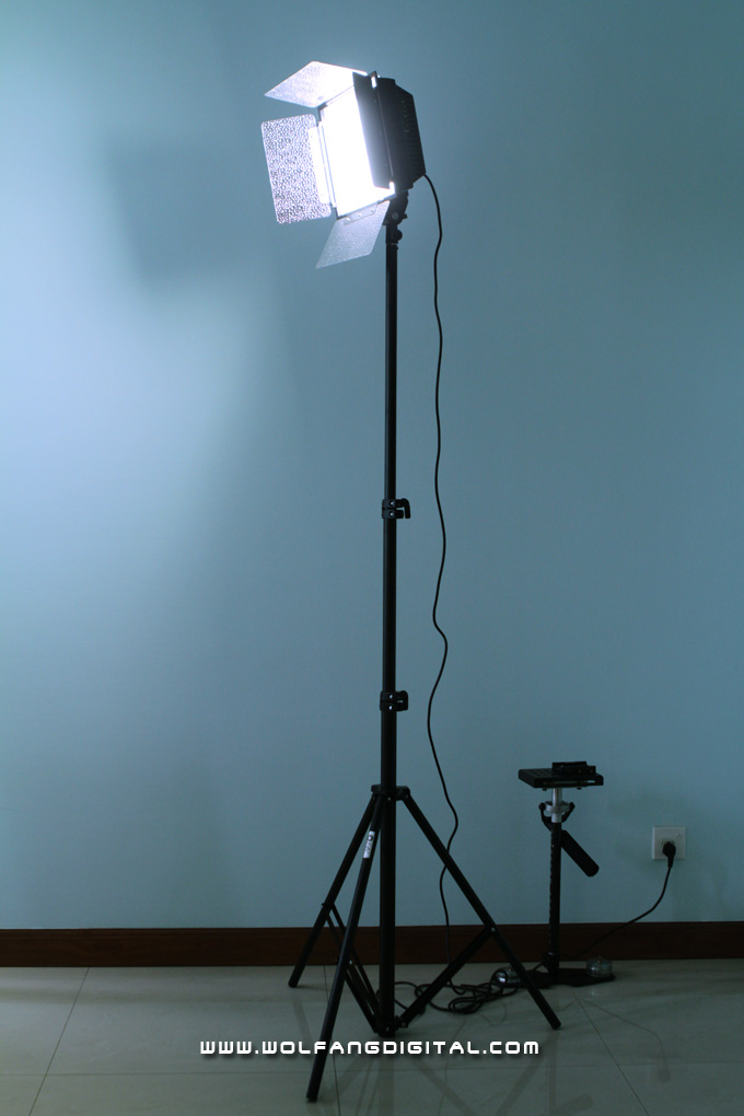 Standing tall: you'll be hard pressed to find a cheaper LED light panel with similar features