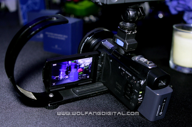 HD film making in the palm of your hand: Sony HDR-CX700