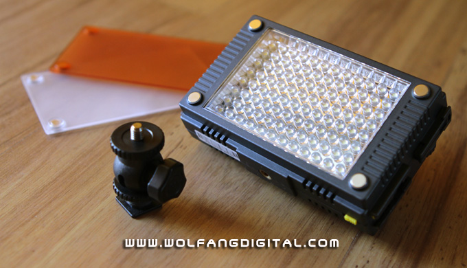 Petite powerhouse- The Z96 is a feature packed and super bright LED video light