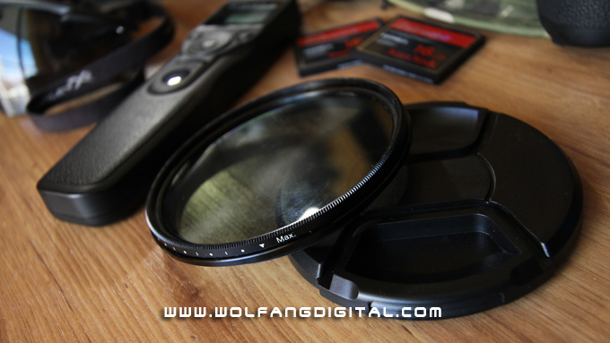 The Variable Neutral Density Filter. Essential for daytime videography and a good kit to have around for timelapse.