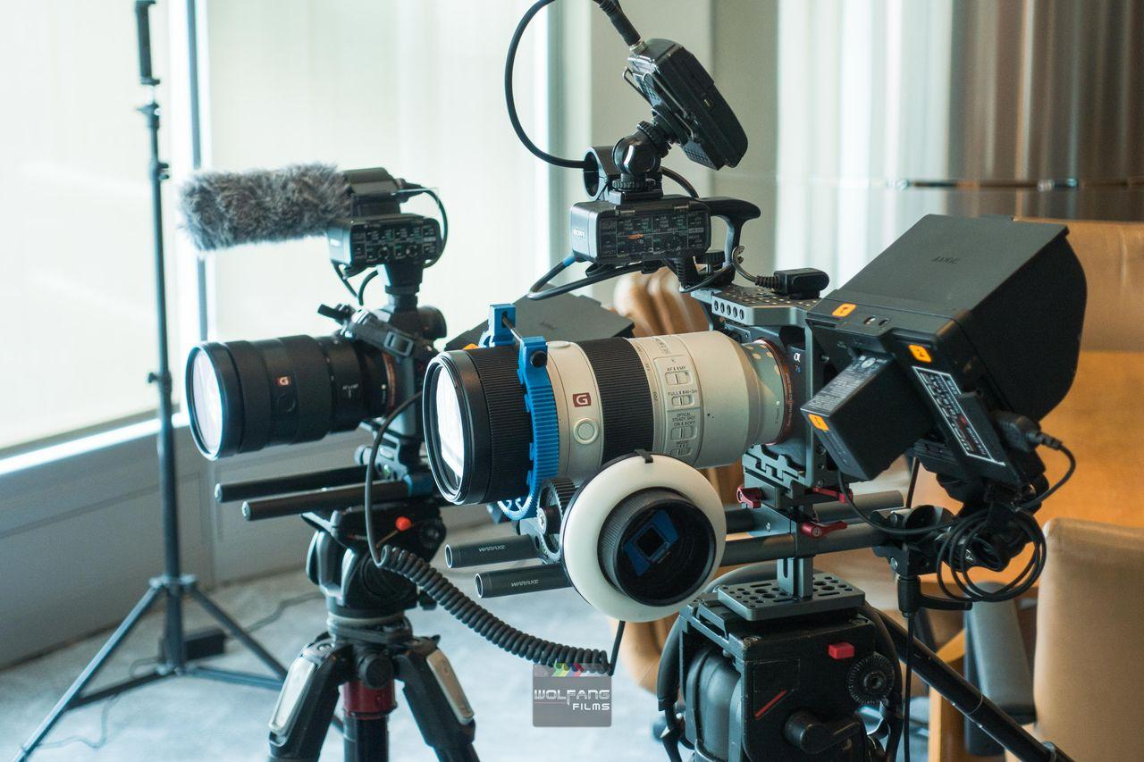 Full cinematography gear for corporate videos by WolFang Digital