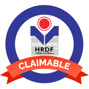 HRDF Claimable Training with HRDF Certified Trainer by WolFang Digital