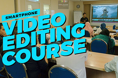 Smartphone mobile video editing course by Baron Abas, WolFang Digital