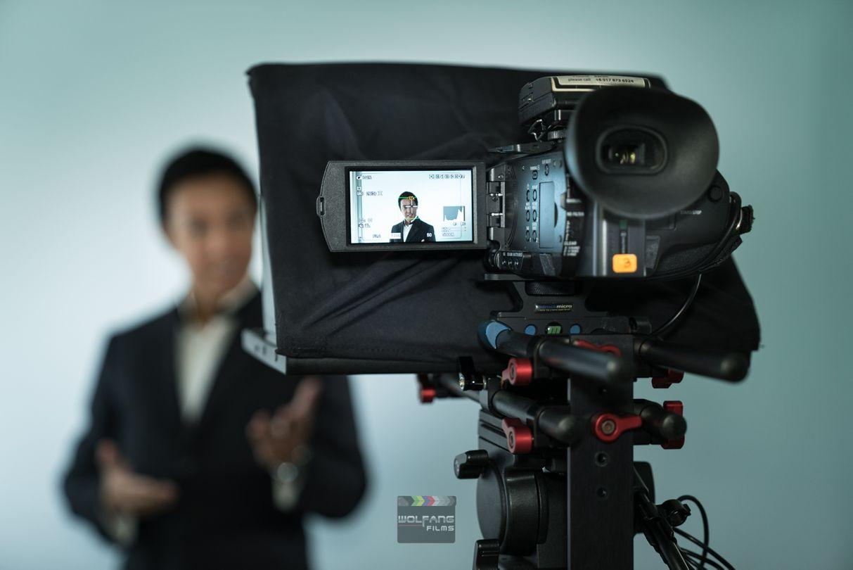 Teleprompter services by WolFang Digital- quick, easy, professional